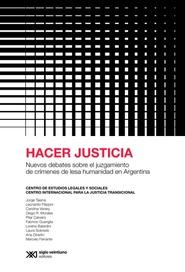 Tapa del libro HACER JUSTICIA