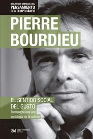 Tapa del libro EL SENTIDO SOCIAL DEL GUSTO