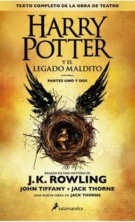 HARRY POTTER 8 Y EL LEGADO MALDITO