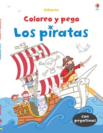 COLOREO Y PEGO - LOS PIRATAS