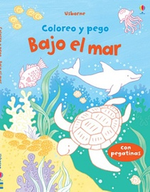 COLOREO Y PEGO - BAJO EL MAR