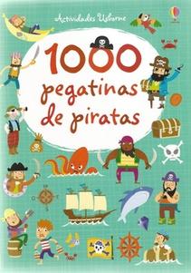 1000 PEGATINA DE PIRATAS
