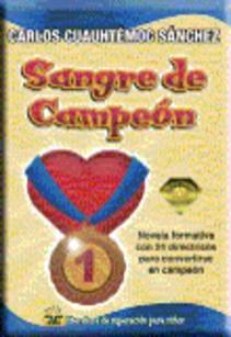 SANGRE DE CAMPEON BOOKET