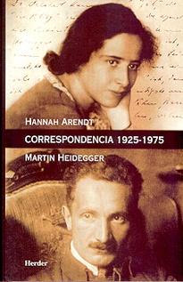 CORRESPONDENCIA 1925-1975 ARENDT/HEIDEGGER