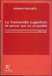 TREMENDA SUGESTIÓN DE PENSAR QUE NO ES POSIBLE, LA