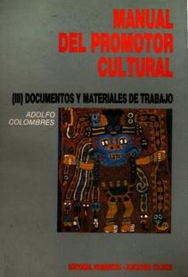 MANUAL DEL PROMOTOR CULTURAL III