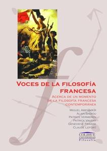 VOCES DE LA FILOSOFIA FRANCESA CONTEMPORANEA