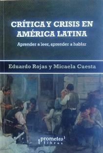 CRITICA Y CRISIS EN AMERICA LATINA