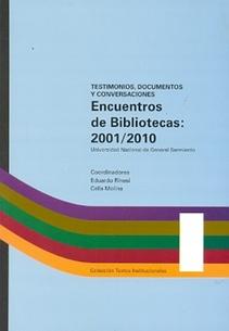 ENCUENTROS DE BIBLIOTECAS 2001-2010