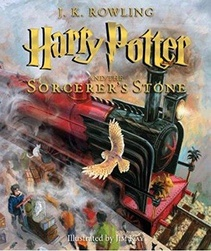 HARRY POTTER AND THE SORCERER'S STONE - ILUSTRADO
