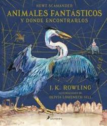 ANIMALES FANTASTICOS ILUSTRADO
