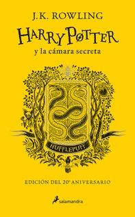 HARRY POTTER Y LA CAMARA SECRETA AMARILLO