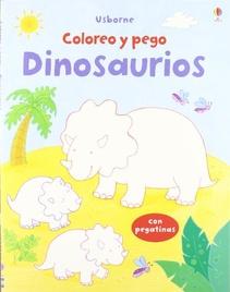 COLOREO Y PEGO - DINOSAURIOS