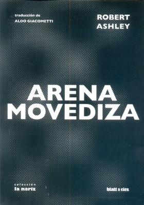 Tapa del libro ARENA MOVEDIZA