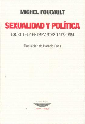 Tapa del libro  SEXUALIDAD Y POLÍTICA