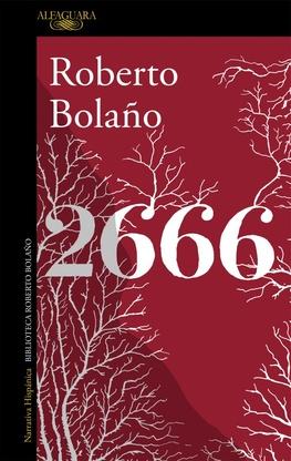 Tapa del libro 2666