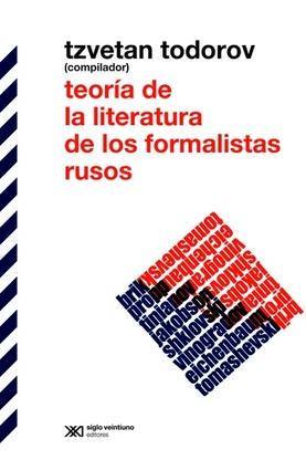 Tapa del libro TEORIA DE LA LITERATURA DE LOS FORMALISTAS RUSOS