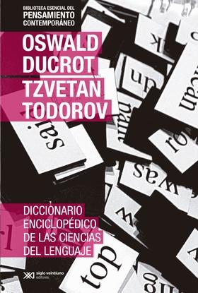 Tapa del libro DICCIONARIO ENCICLOPEDICO DE LAS CIENCIAS DEL LENGUAJE