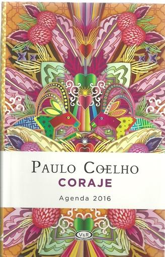 AGENDA PAULO COHELO - CORAJE 2016