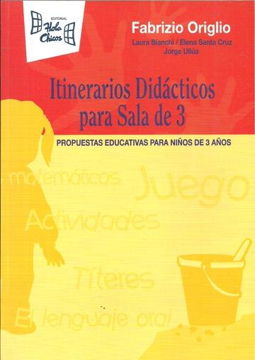 ITINERARIOS DIDÁCTICOS PARA SALA DE 3 AÑOS