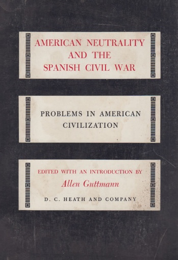American neutrality and the spanish civil war (Usado)