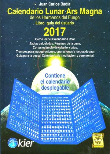 CALENDARIO LUNAR ARS MAGNA 2017