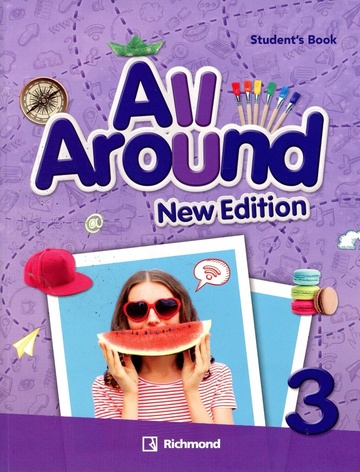 ALL AROUND NEW ED 3 STUDENT'S BOOK