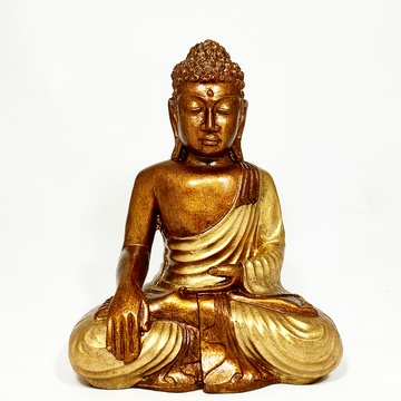 Buda Antique Bronce  (24 x 17 cm)