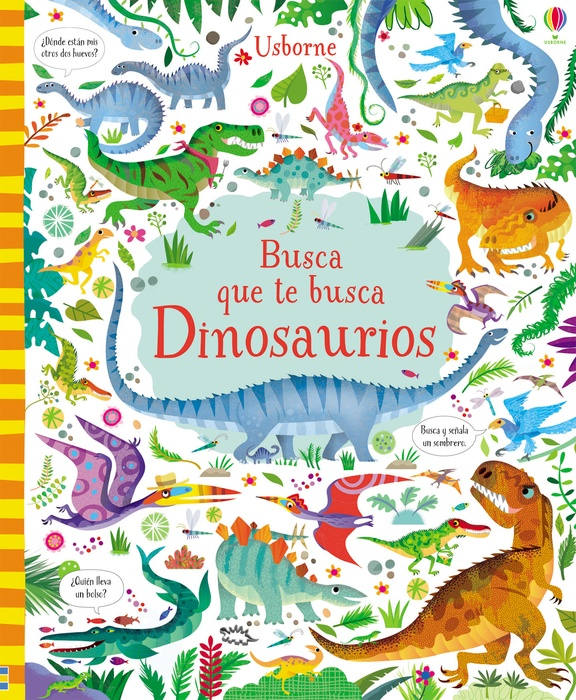 Busca que te busca dinosaurios  (Nuevo)