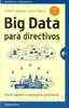 Tapa del libro BIG DATA PARA DIRECTIVOS