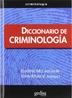 Tapa del libro DICCIONARIO DE CRIMINOLOGIA