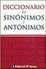 Tapa del libro DICCIONARIO DE SINÓNIMOS Y ANTÓNIMOS