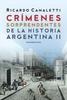 Tapa del libro CRIMENES SORPRENDENTES DE LA HISTORIA ARGENTINA II