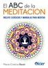 Tapa del libro EL ABC DE LA MEDITACION