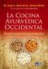 Tapa del libro LA COCINA AYURVÉDICA OCCIDENTAL
