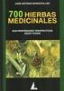 Tapa del libro 700 HIERBAS MEDICINALES