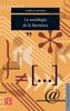 Tapa del libro LA SOCIOLOGIA DE LA LITERATURA