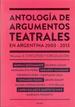 Antología de argumentos teatrales