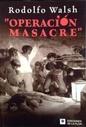 Tapa del libro OPERACION MASACRE