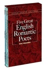 Five Great English Romantic Poets ( Five Volumes )
