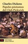 Papeles PóStumos del Club Pickwick, 3 (ColeccióN Literatura)