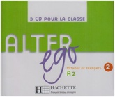 Alter ego 2 cd audio classe (x3)