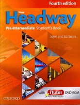 NEW HEADWAY  PRE-INTERMEDIATE-  STUDENT`S & iTUTOR  4th Ed