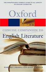 OXF.CONCISE COMPANION TO ENGLISH LITERAT