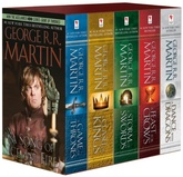 GAME OF THRONES 5-BOOK BOXED SET (PB)