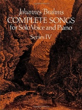 Complete songs for Solo Voice and Piano Series IV