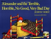 ALEXANDER THE TERRIBLE HORRIBLE NO GOOD VERY BAD DAY