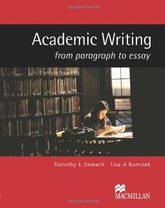 ACADEMIC WRITING:FROM PARAGRAPH TO ESSAY