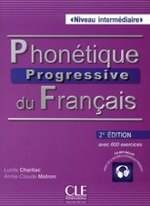 Phonétique Progressive du Francais Intermediaire (2e édition) Livre + CD