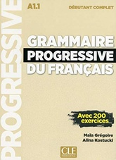 Grammaire progressive du francais débutant (1CD audio MP3) (French Edition)